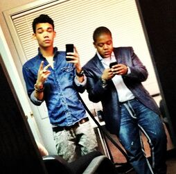 Roshon-fegan-with-kyle-massey