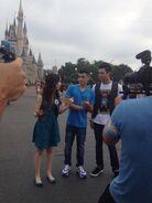 Radam-with-LauraMarano-at-DisneyLand-(2)