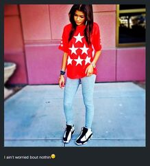 Zendaya-coleman-red-top-white-stars