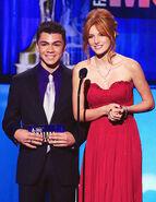 Bella thorne and adam irigoyen alma awards (2)