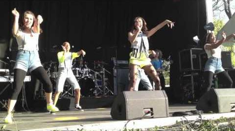 """2012 White House Easter Egg Roll Zendaya Performs """"Something to Dance For"""""""