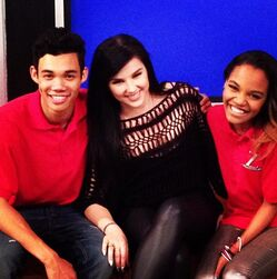 Roshon-fegan-and-chyna-mcclain-with-woman