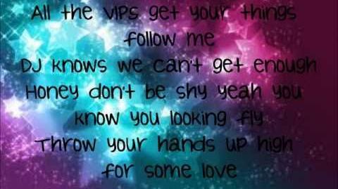 Roshon Fegan & Caroline Sunshine ~ Afterparty ( Lyrics )