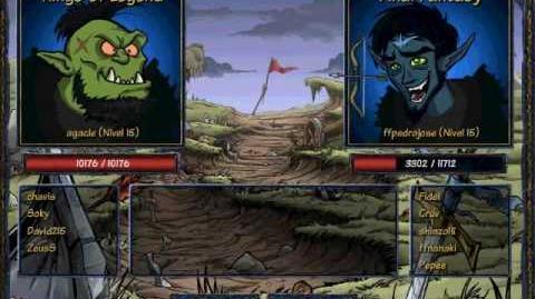 S&F - King of legends vs Final Fantasy