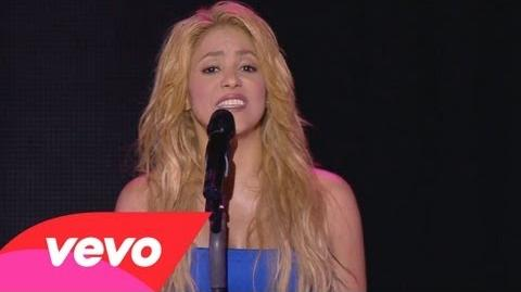 Shakira - Je L'aime A Mourir (Live From Paris)
