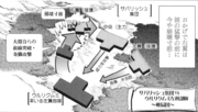 ES Manga Ch 04 map of Ullikummi and Sawallisch