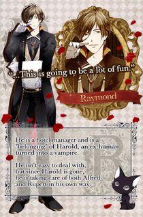 Raymond character description (1)