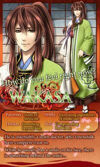 Wakasa character description (1)