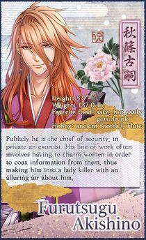 Furutsugu Akishino character description