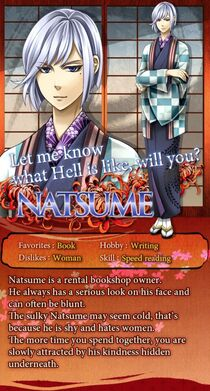 Natsume character description (1)