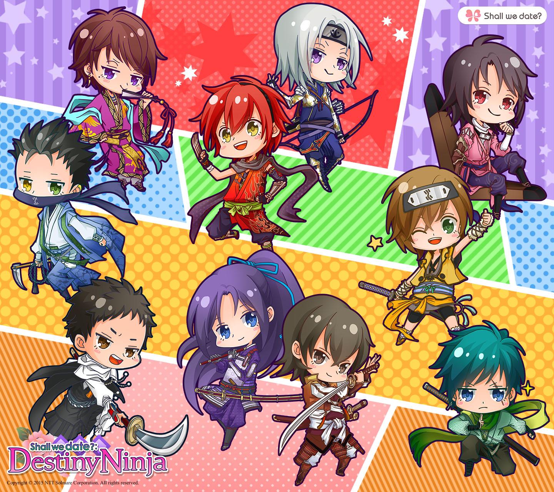 Destiny Ninja Chibi Characters