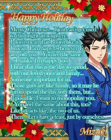 Mizuki - Christmas Message Card