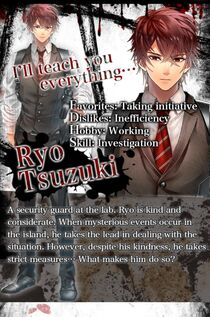 Ryo Tsuzuki character description (1)