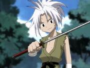 Young Amidamaru With Harasume