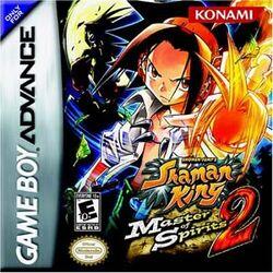 Shaman King Master of Spirits 2 video game cover