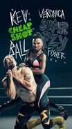 Season 10 promotional poster Kevin and Veronica Ball