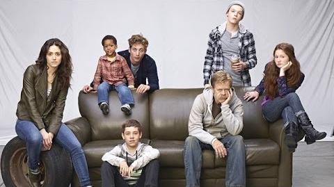 Shameless Season 4 Photo Shoot Behind the Scenes