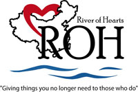 River of hearts logo