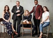 The Shannara Chronicles Cast Winter TCA Portrait 2016