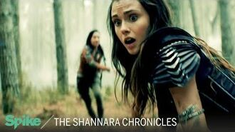 'Amberle & Eretria vs. the Elf Hunters' (Ep. 107) The Shannara Chronicles Now on Spike TV