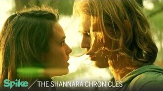 'Amberle & Wil in the Woods' (Ep. 106) The Shannara Chronicles Now on Spike TV