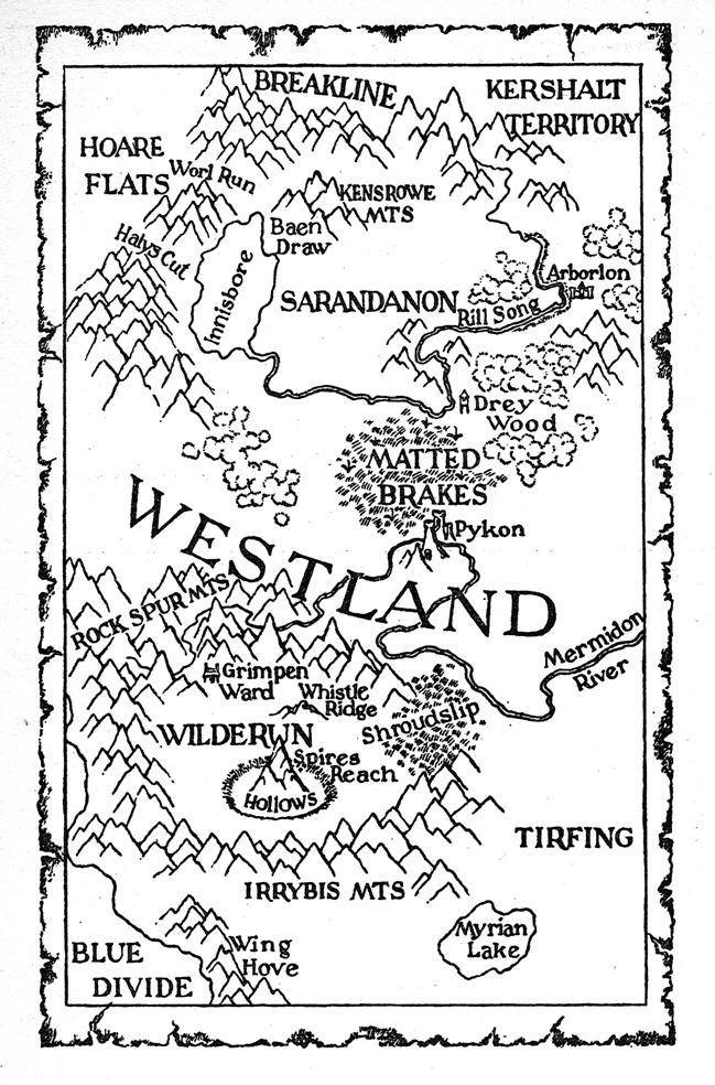 Image - Westland Map.jpg | Shannara Wiki - Exploring the Magical ...