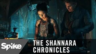 'You Can Read Druid?' Ep. 207 Official Clip The Shannara Chronicles (Season 2)