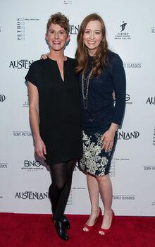 Shannon Hale and Jerusha Hess