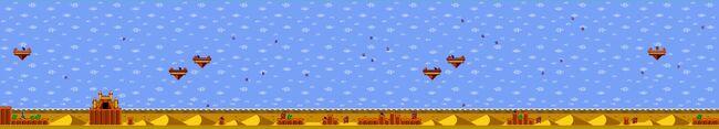 Shantae GBC - maps - desert1