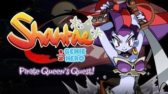 Shantae Half-Genie Hero – Pirate Queen's Quest Teaser Trailer!