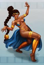 Dancer Shantae by tippedchair