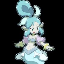 Ghost Half-Genie Princess Render