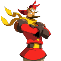 Armor Baron Portrait