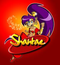 Shantae Virtual Console Cover