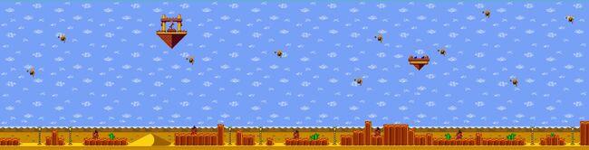 Shantae GBC - maps - desert2
