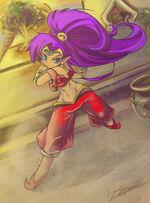 Shantae by LunarMew