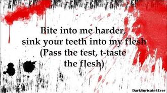 Simon Curtis - Flesh (lyrics)