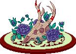Deer skull by hara reitad89q9fo