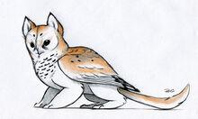 Owl griffin color design by robthedoodler-d4tc3po