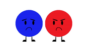 Blue and Red Circle1