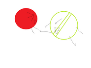 Tokey kicking Red Circle