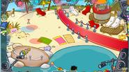 Парад пляж лазурный
