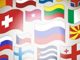 Фон «Флаги»
