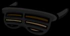 Чёрные жалюзи