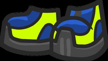 Сине-салатовые