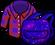 Рубашка с рюкзаком «Космо» в инвентаре