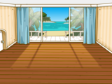 Дневной домик у моря