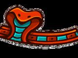 Ободок «Змея»