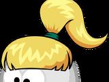 Причёска «Озорная чёлка»