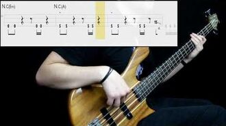 Radiohead - The Bends (Bass Cover) (Play Along Tabs In Video)